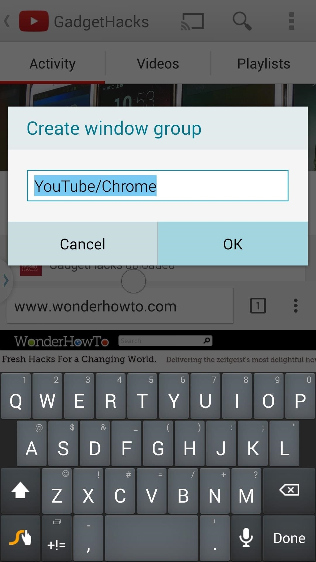 This Hidden Trick Lets You Create App Groups for Multi-Window Mode