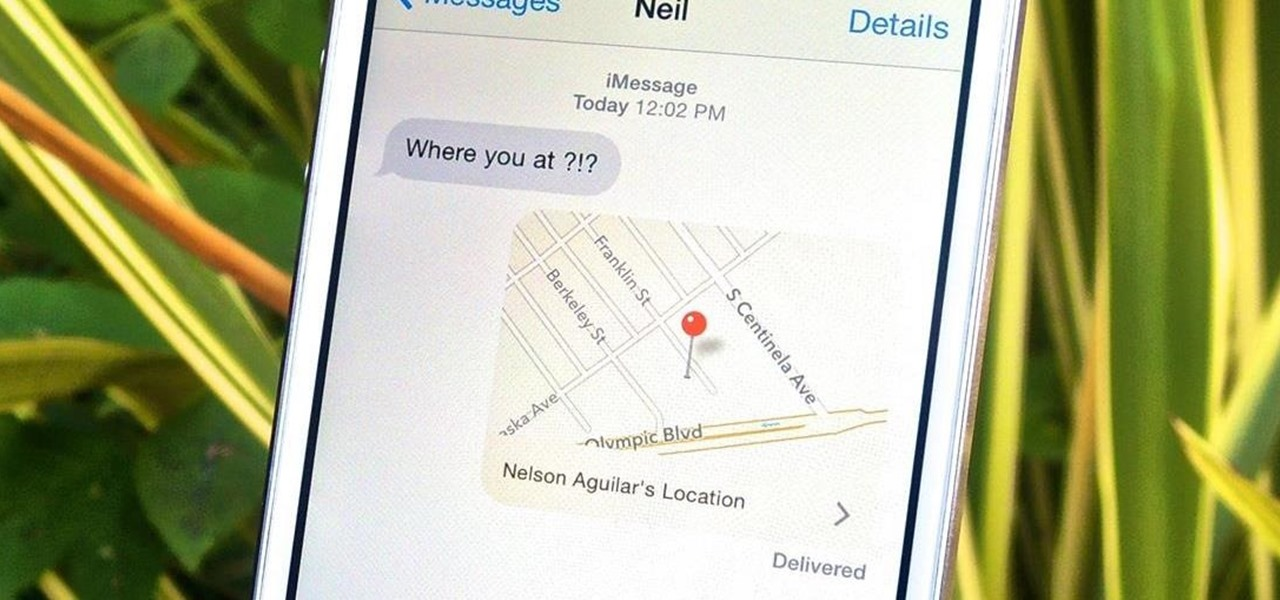 Send & Share Your iPhone's Current Location in iOS 8