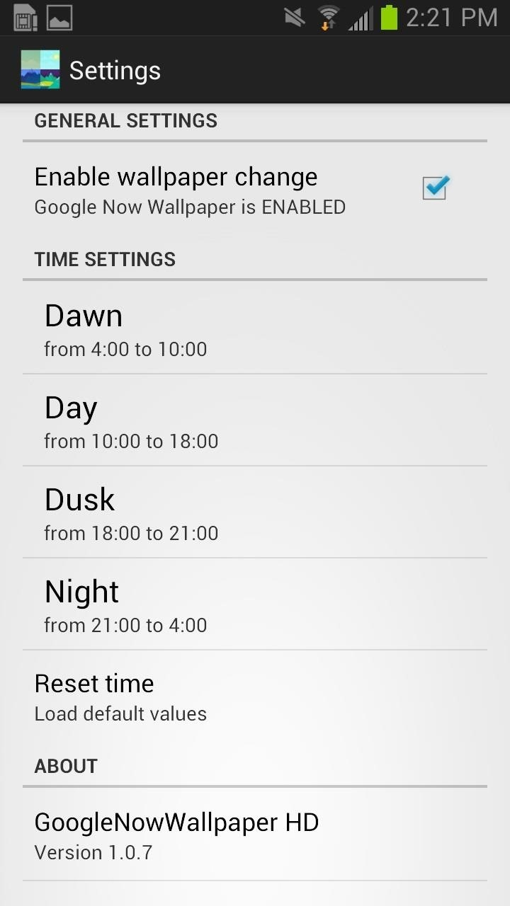 How to Get Auto-Rotating Google Now Wallpapers on Your Samsung Galaxy S3 Home Screen