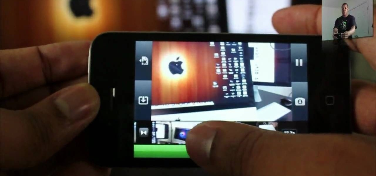 How to Use the iMovie app on your iPhone 4G HD « Smartphones