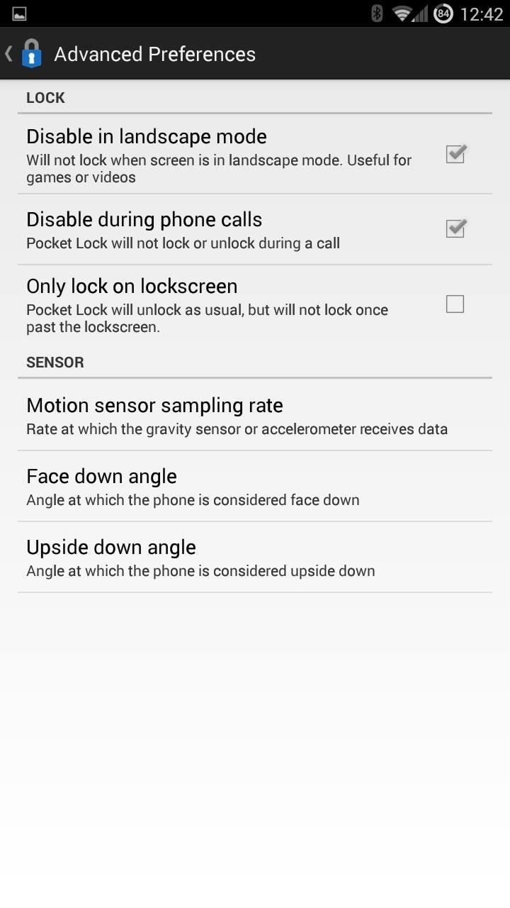 Automatically Lock & Unlock Your Android with Your Pocket « Samsung