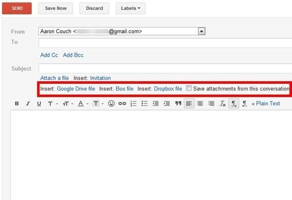 How to Attach Large 100MB Files in Gmail with Attachments.me