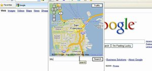 Add the Google Maps button to Toolbar