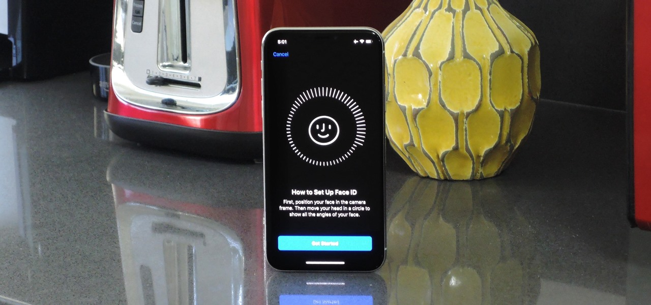 Set Up Face ID on Your iPhone X, XS, XS Max, or XR