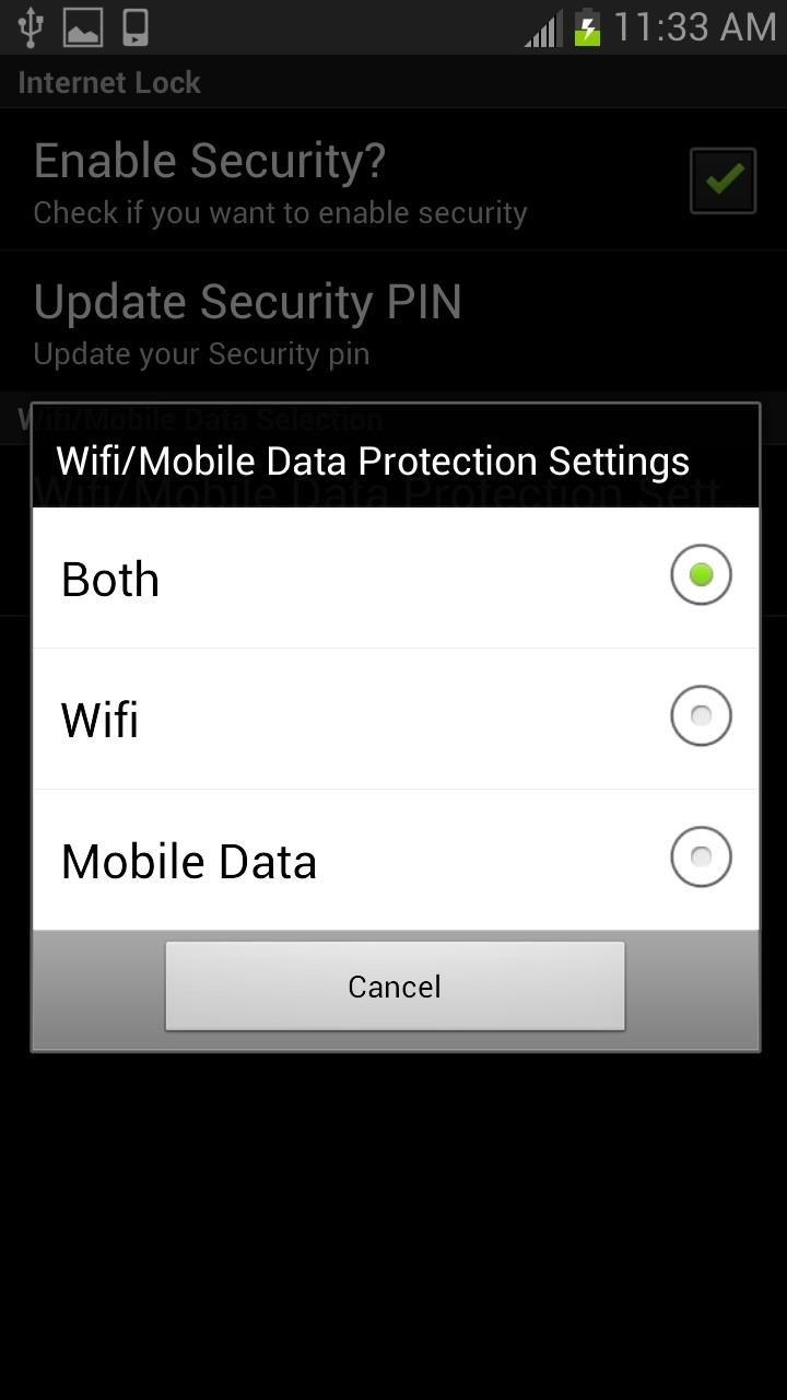 How to PIN-Protect Mobile Data & Wi-Fi to Prevent Procrastination & Unwanted Charges
