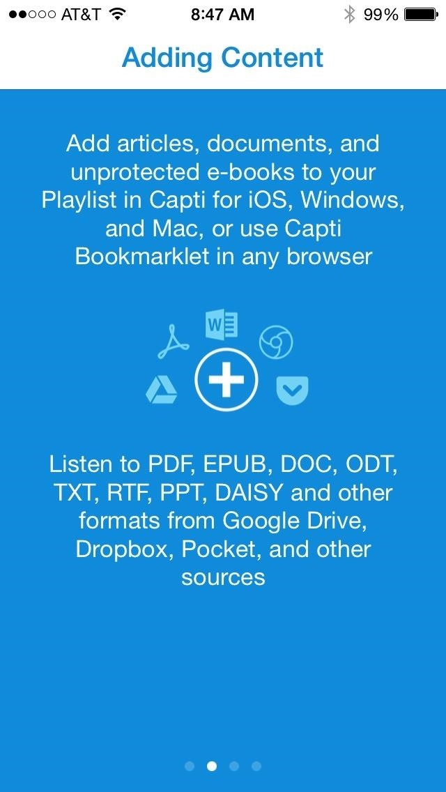 Sync Reading Lists & Cloud Docs on Your iPhone into a Single Audible Playlist