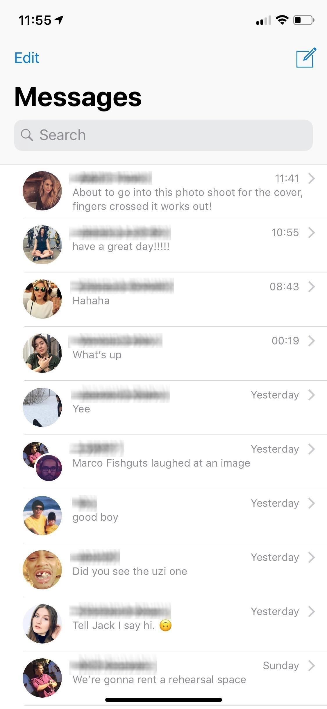 How to Hide Contact Photos from Your Apple Messages List & Conversations to Declutter the Interface