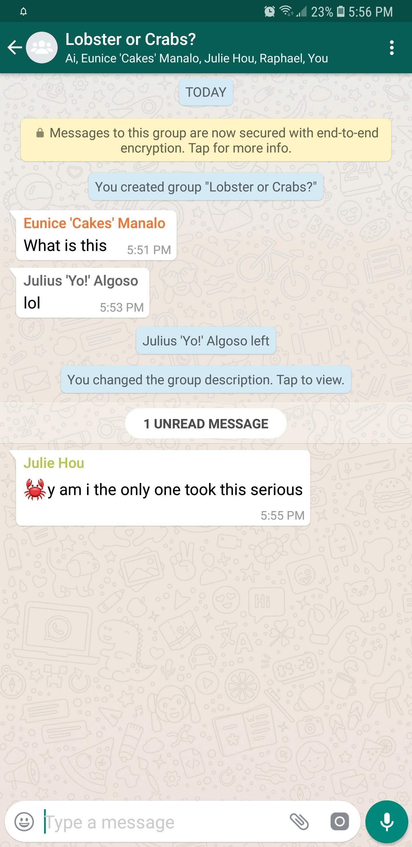 WhatsApp 101: How to Add Descriptions to Group Chats