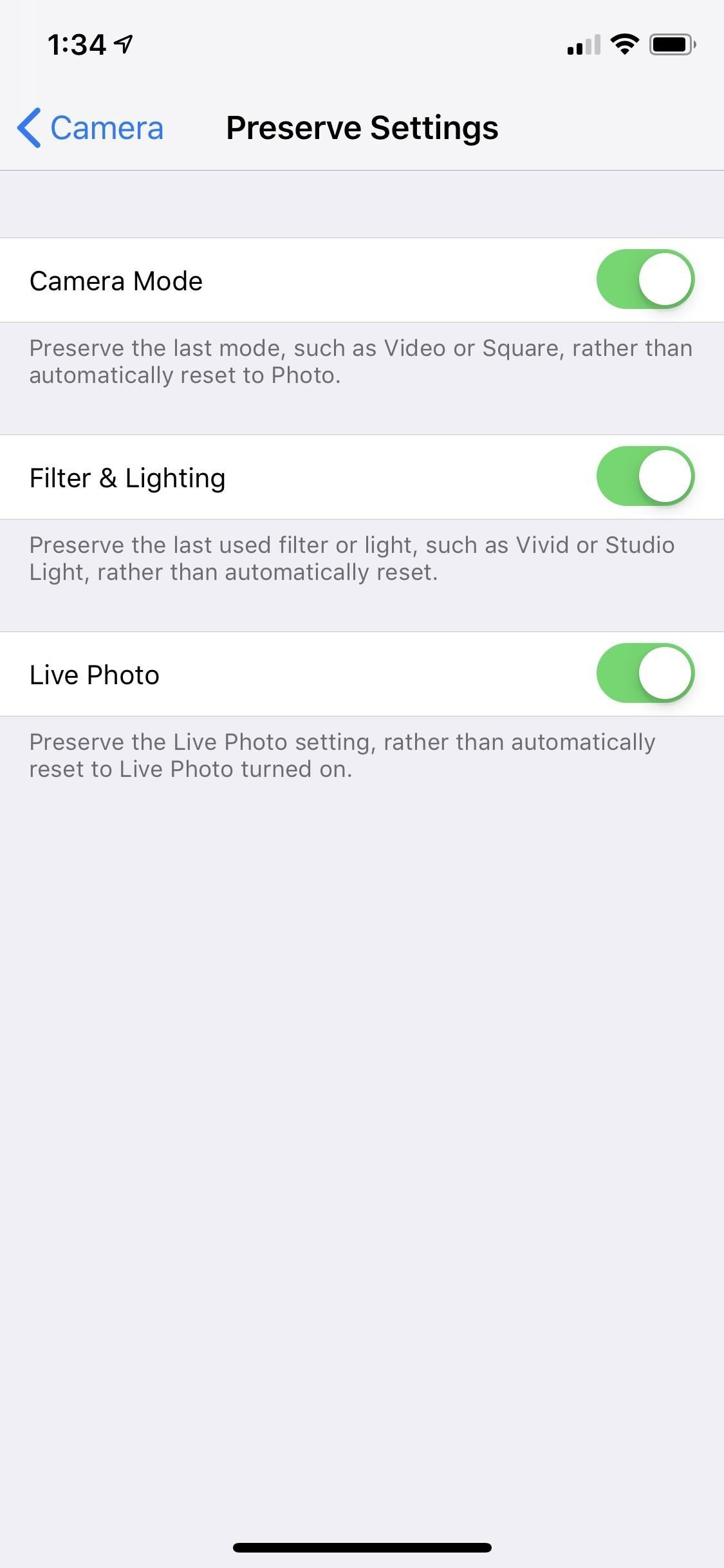 Make Your iPhone Camera Open to Your Last Used Shooting Settings So You're Always Ready