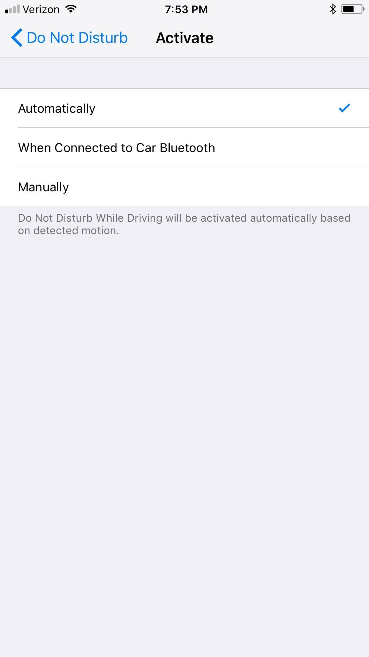 How to Use 'Do Not Disturb While Driving' on Your iPhone in iOS 11 (Or Turn It Off if You Don't Like It)