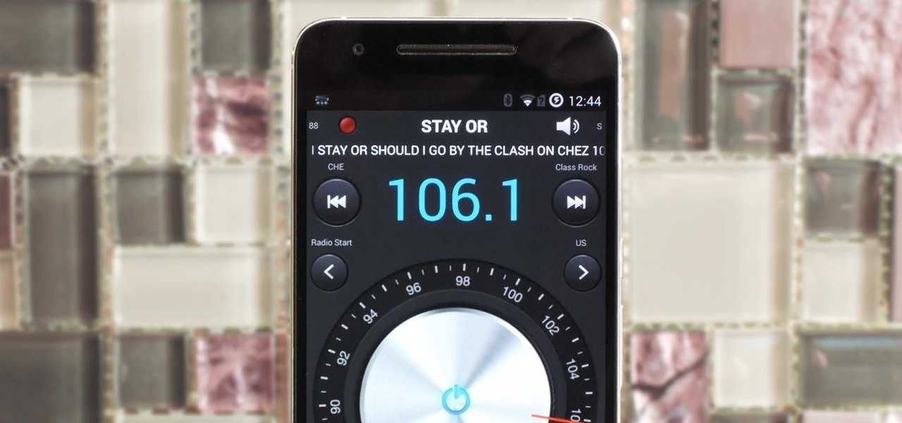 Listen to FM Radio on a Google Android Smartphone