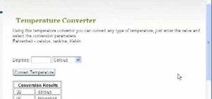 Convert Fahrenheit, Celsius, Rankine & Kelvin online