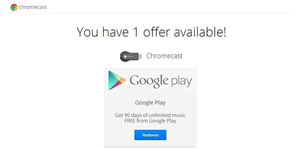 Google Celebrates Chromecast's Birthday with Free All Access Music