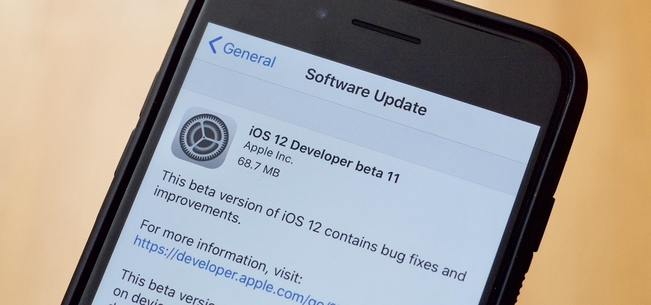 Apple's iOS 12 Developer Beta 11 Released for iPhone