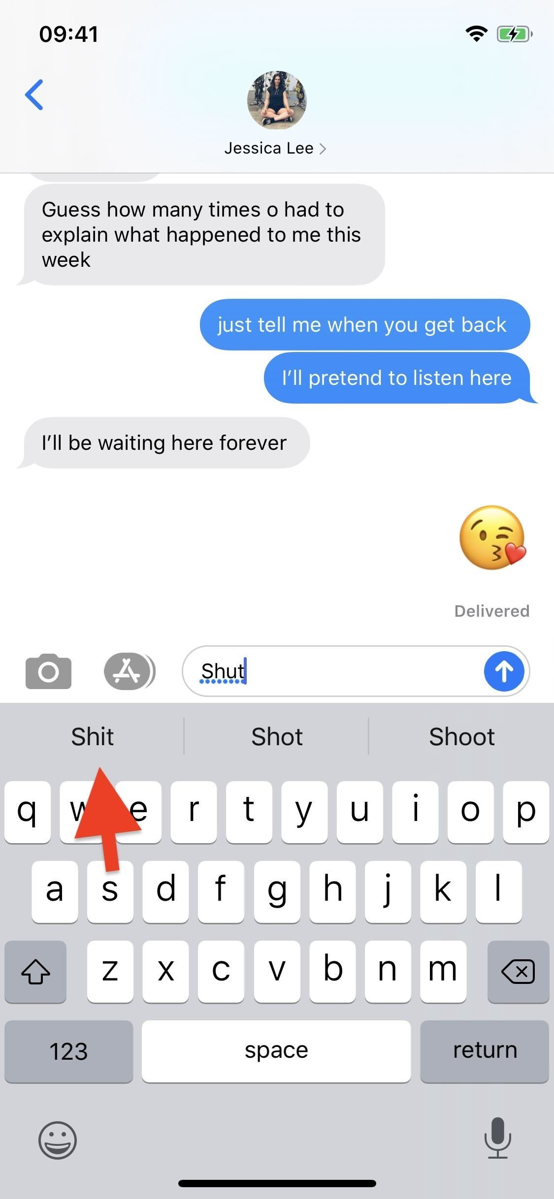 How to Type Swear Words with the Swipe-to-Type Keyboard in iOS 13