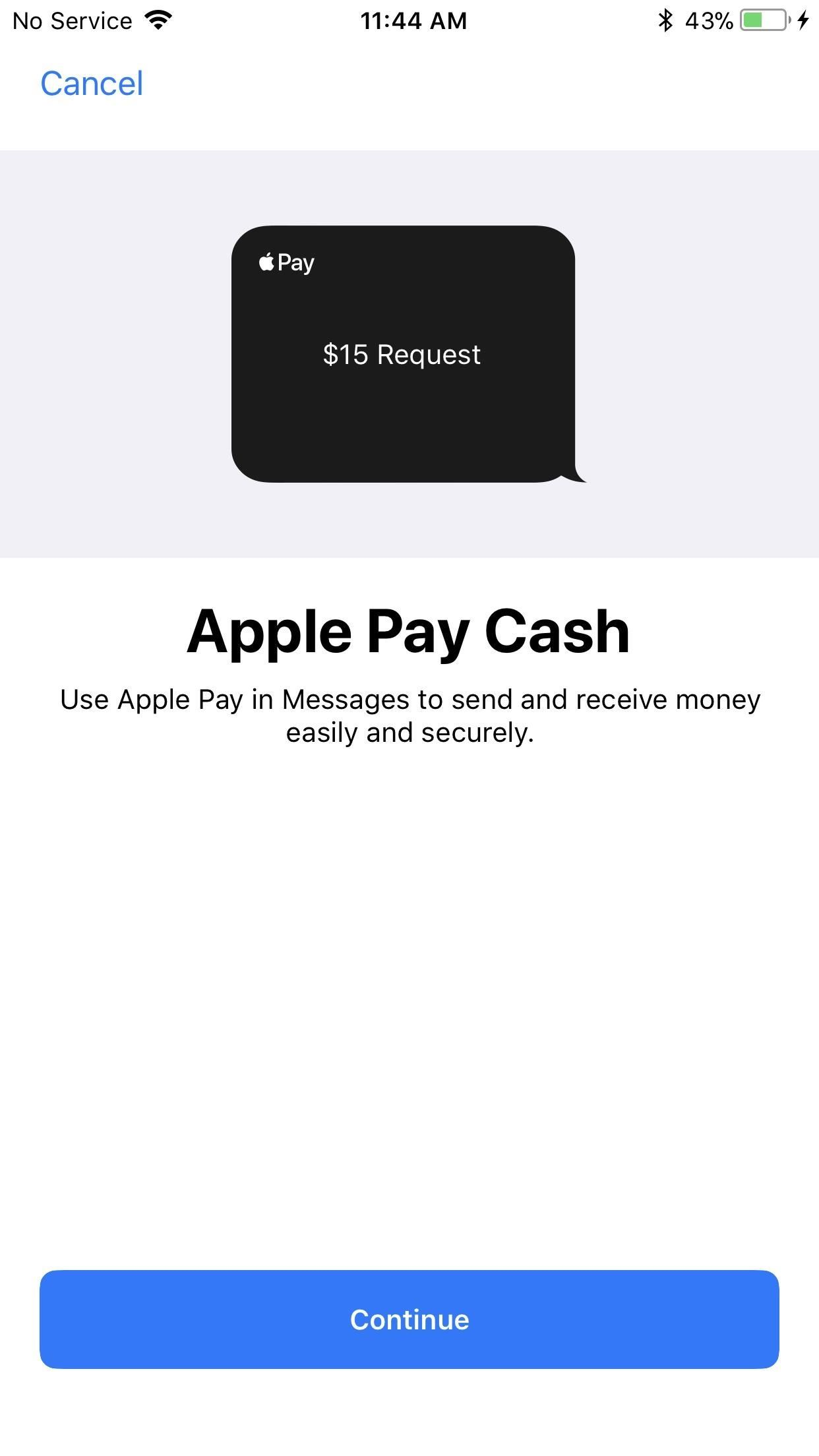 How to Send & Receive Apple Pay Cash via Messages on Your iPhone