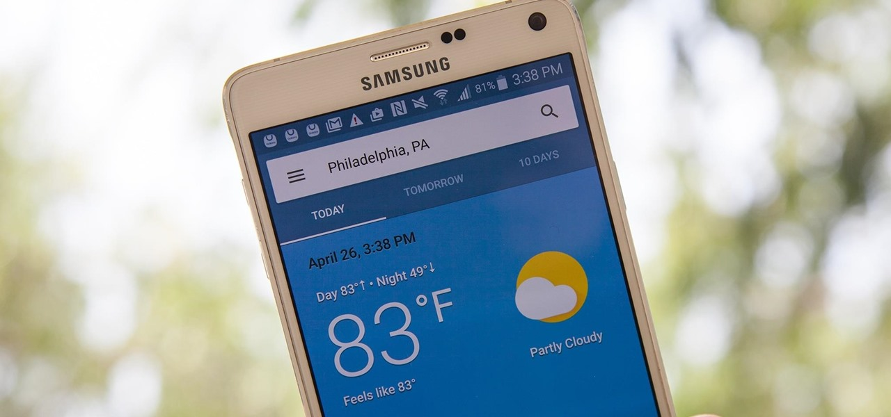 Get Google's Hidden Weather App on Your Home Screen