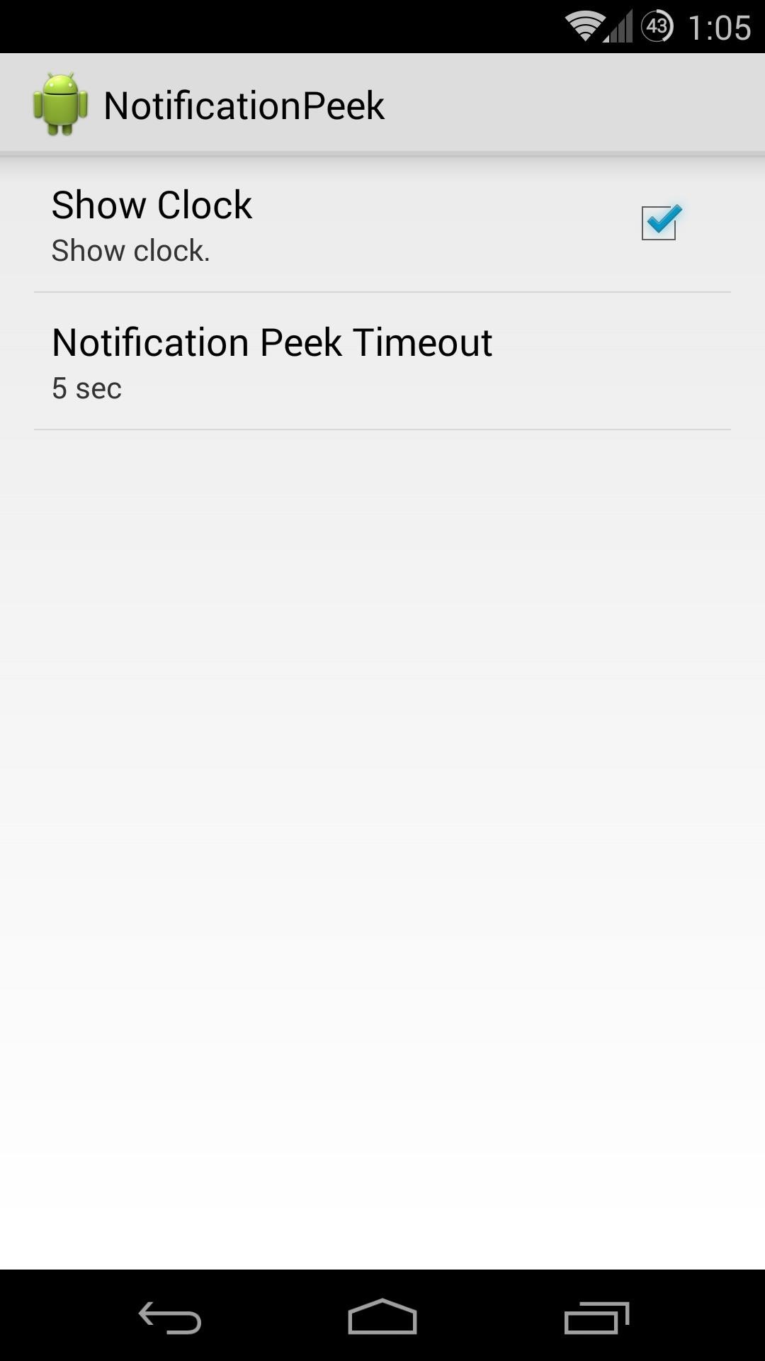 How to View New Notifications Just by Picking Up Your Nexus 5