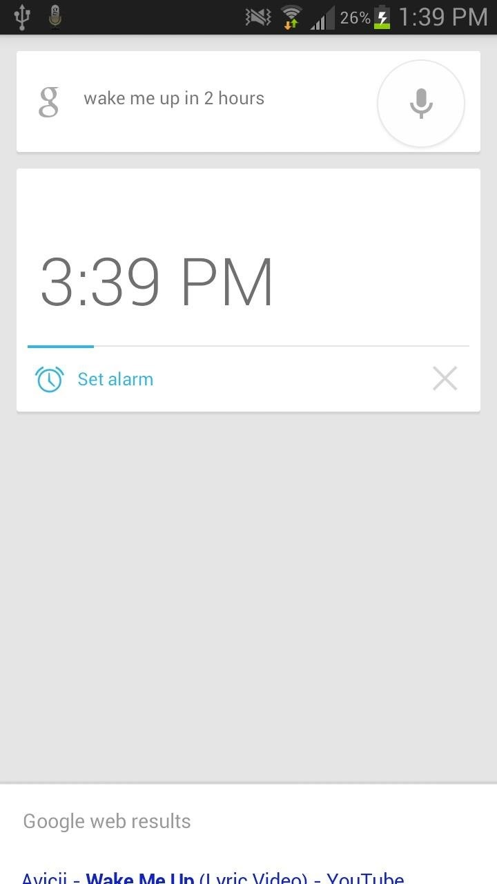 How to Quick Launch Google Now on Your Samsung Galaxy Note 2 Using Just Your Voice