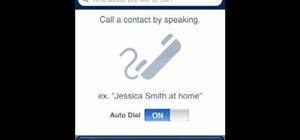 Voice dial your iPhone
