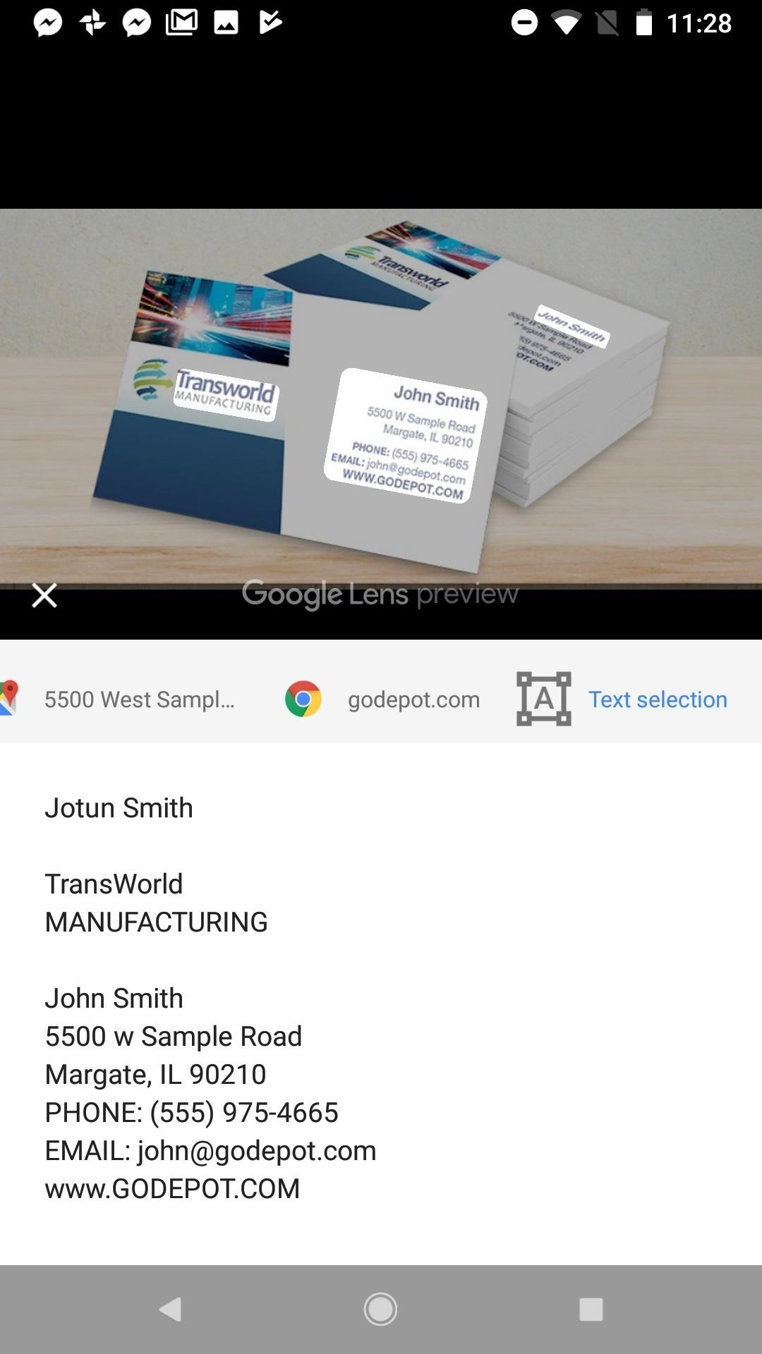 Google Photos 101: How to Use Google Lens to Save Contact Info from ...