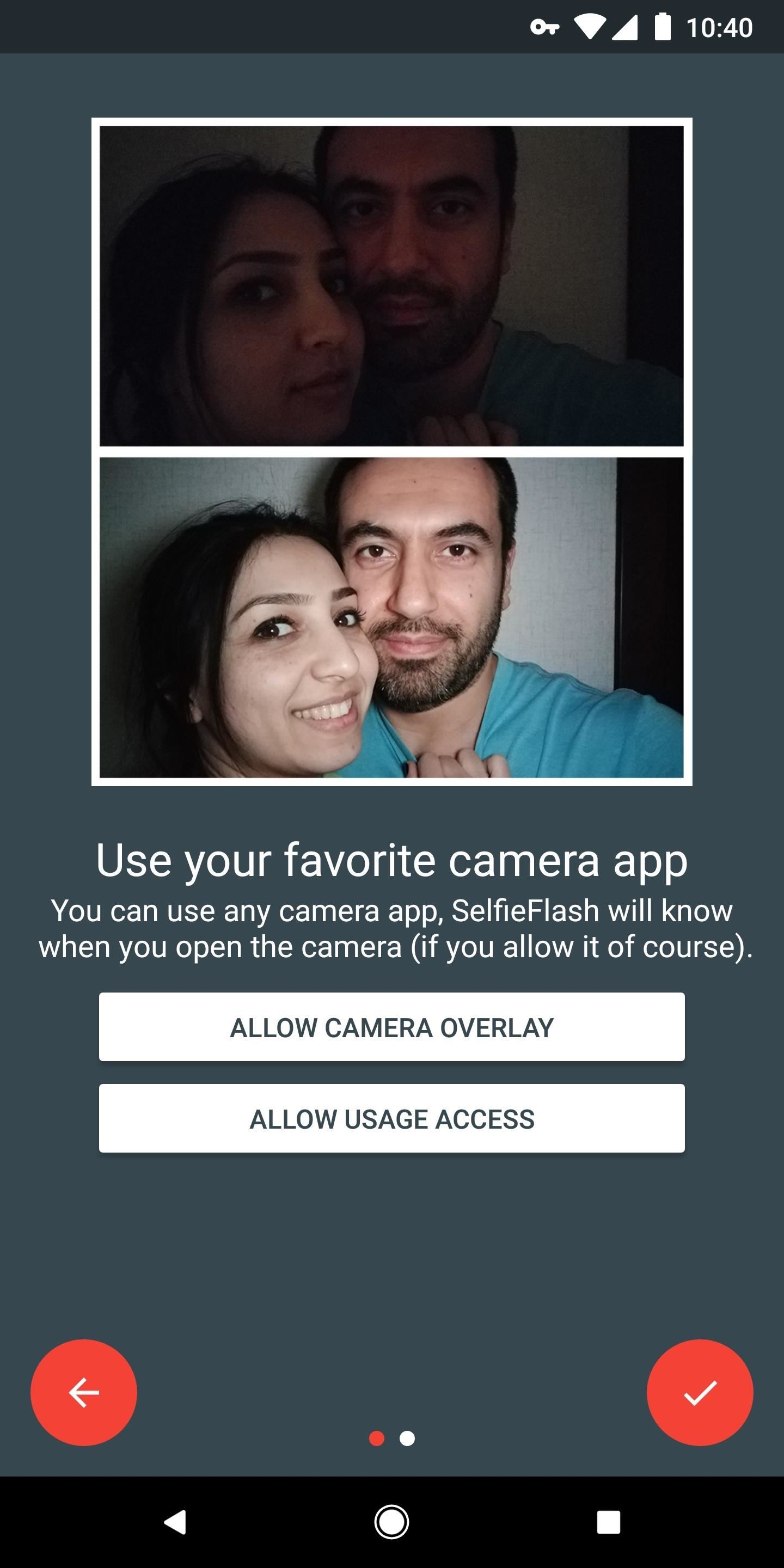 Get Front-Facing Flash for Your Selfies in Any Android Camera App