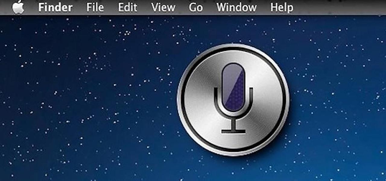 Install Siri on Your Mac