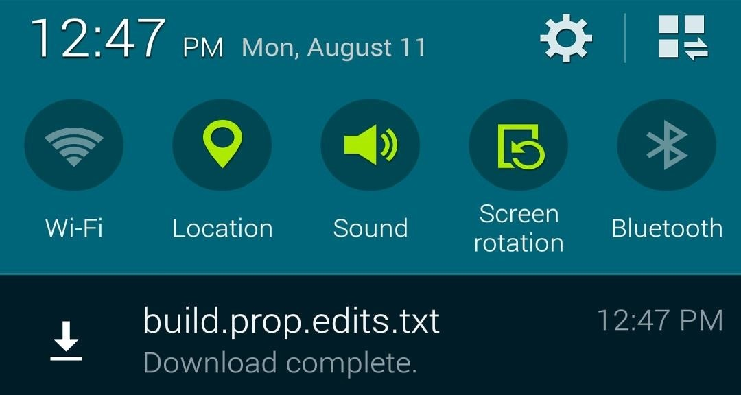 "Boost Performance & Battery Life on Your Galaxy S5 with These ""Build.prop"" Hacks"
