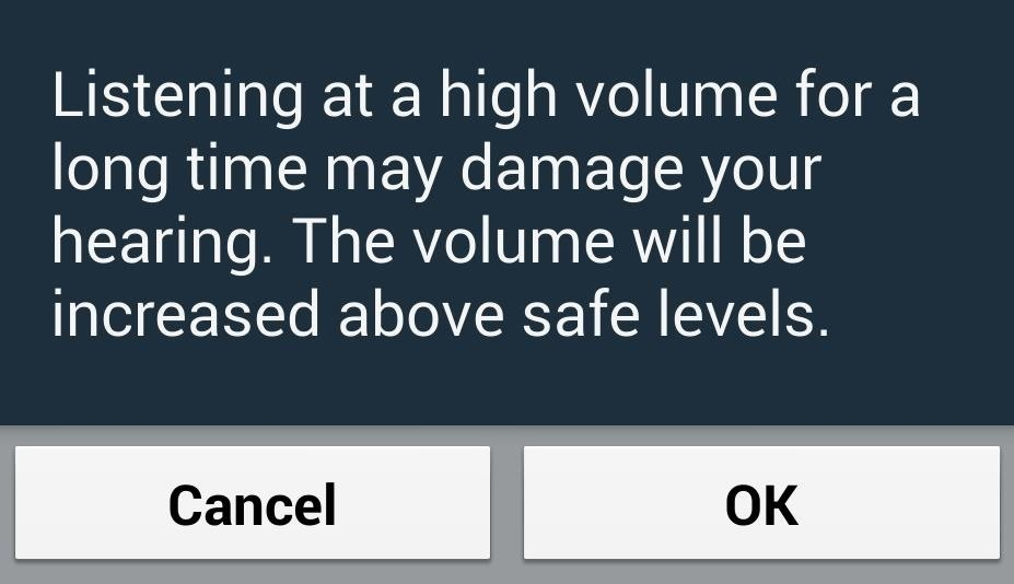 How to Disable the High Volume Warning When Using Headphones on Your Samsung Galaxy S4