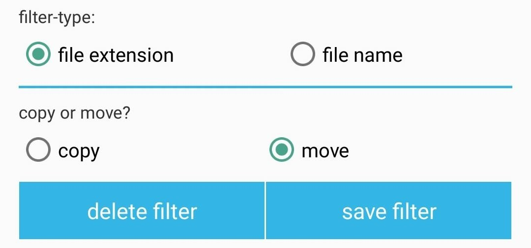 Auto Move for Android Puts Your Files Exactly Where You Want Them