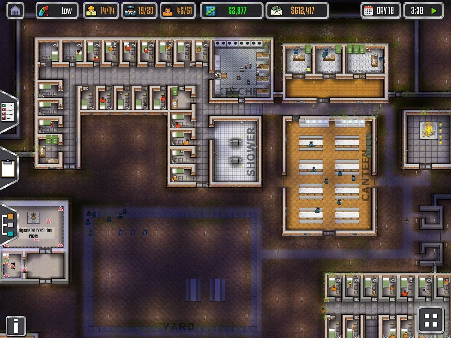 Play Prison Architect on Your iPad Now & Be the Warden of Your Very Own Jail
