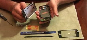 Fix broken front glass on an iPhone