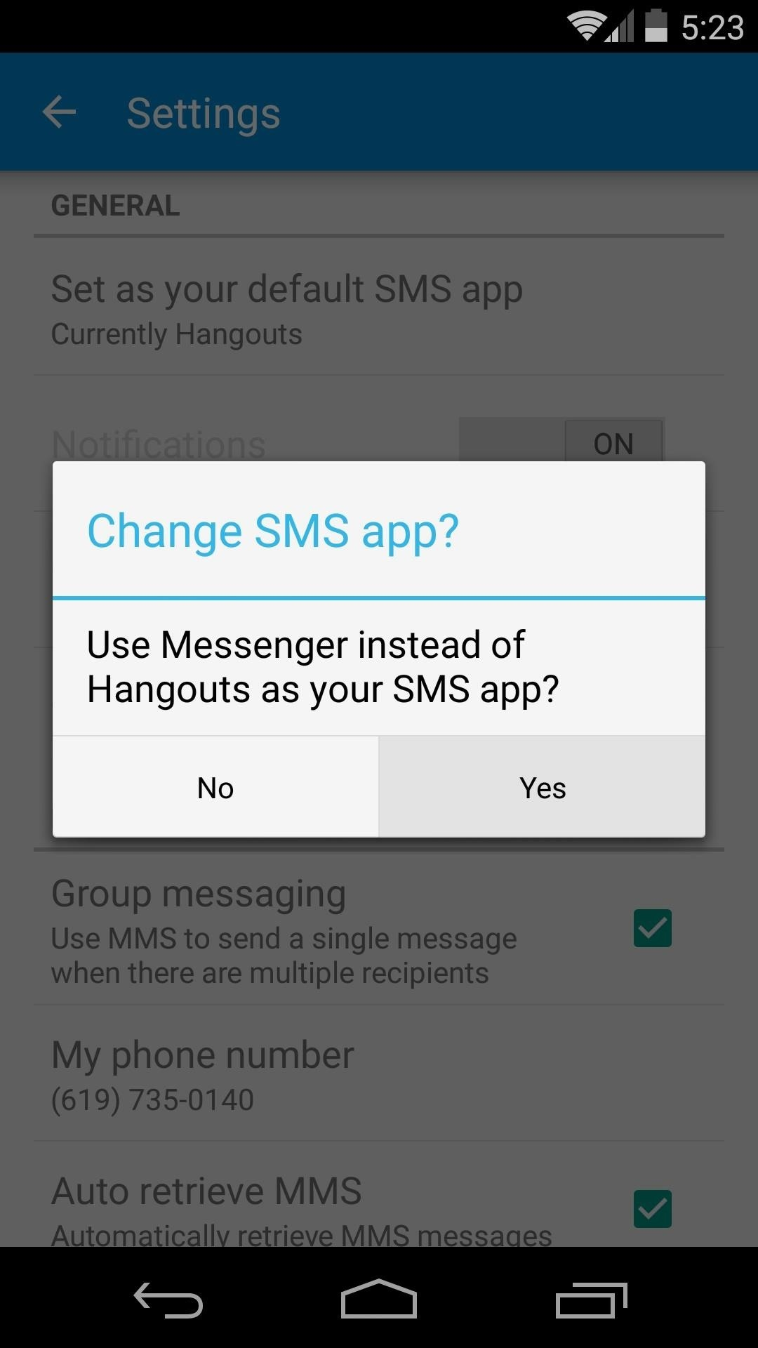 Install the Android 5 0 Lollipop Messenger App on KitKat « Android