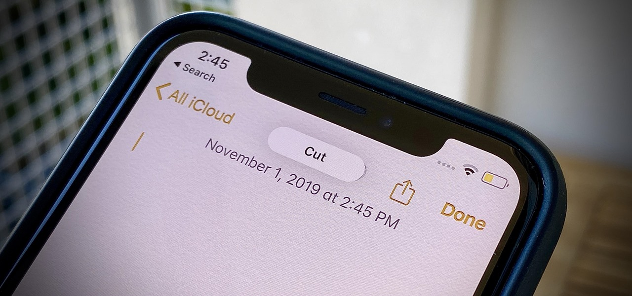 Cut Text on Your iPhone with a Simple Gesture