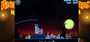 Beat level 1-11 of Angry Birds Halloween HD for the iPad