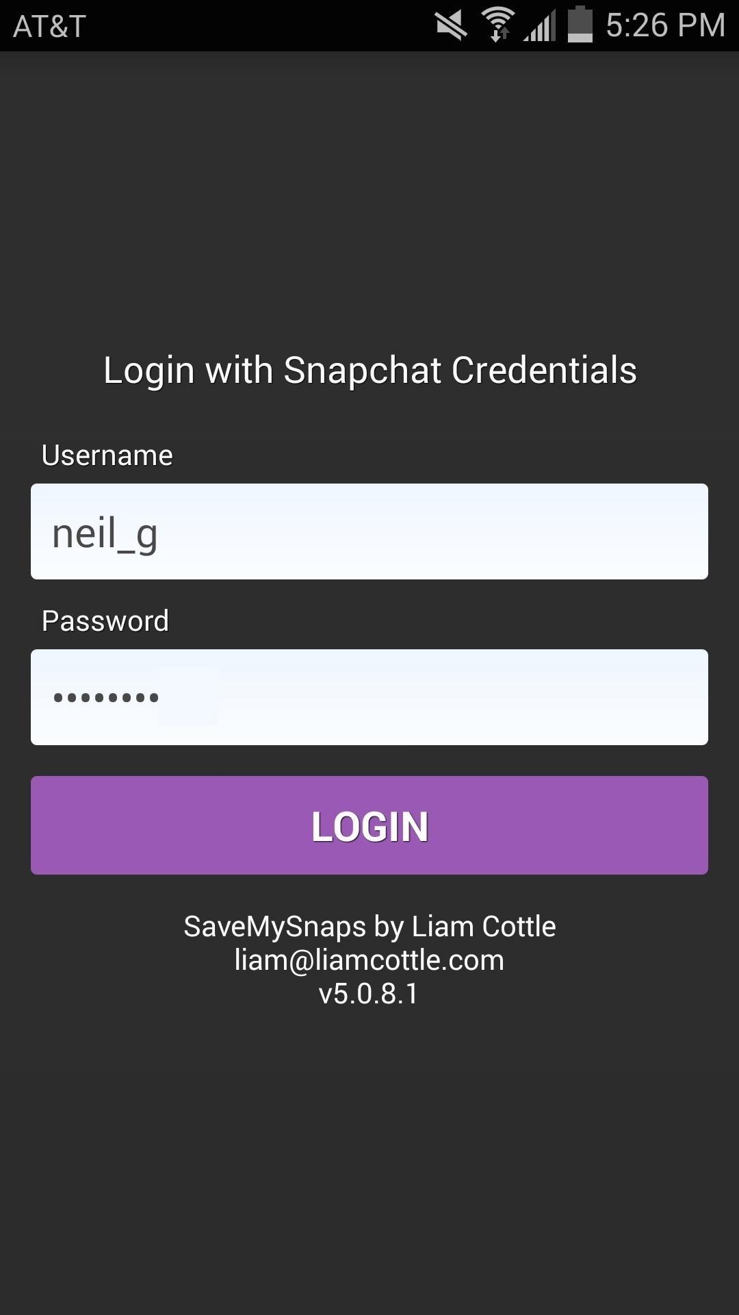 Spy App Login