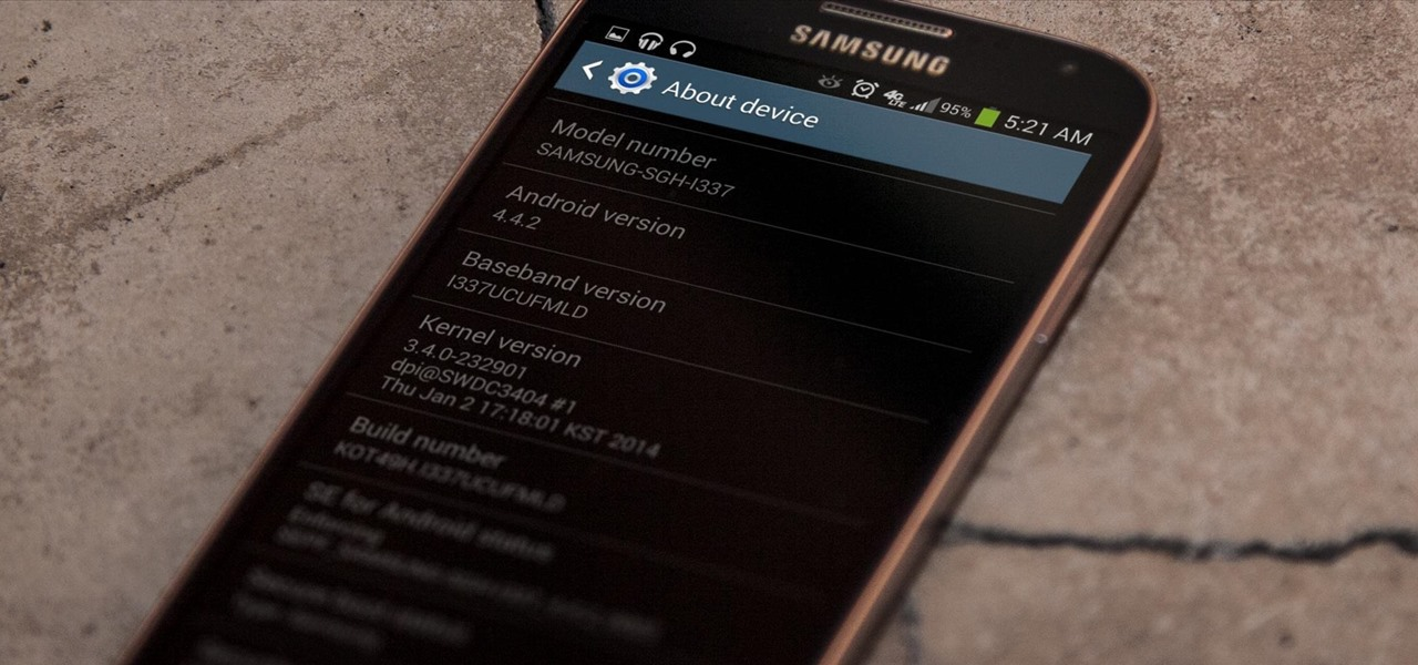 Install the Leaked KitKat Build on Your AT&T Samsung Galaxy S4
