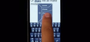 Use Swype to text message on a Windows Mobile phone
