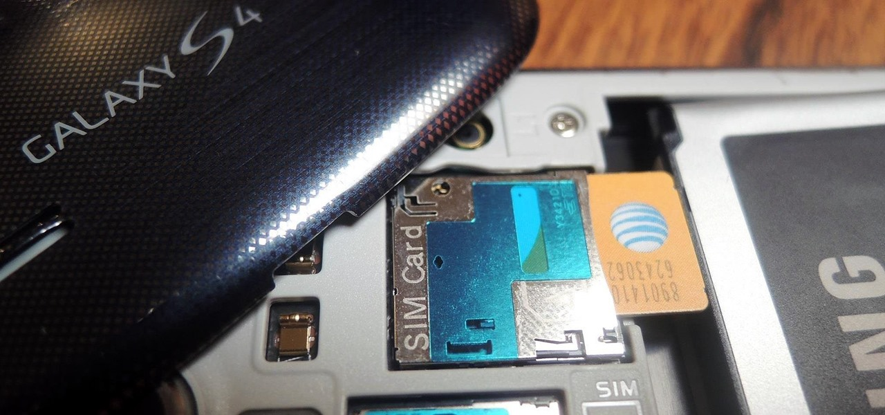 Carrier Unlock Your Samsung Galaxy S4 So You Can Use Another SIM Card