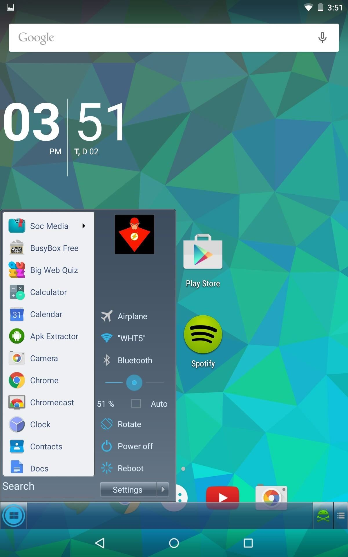 Get a Windows-Inspired Start Menu on Your Android « Nexus 7