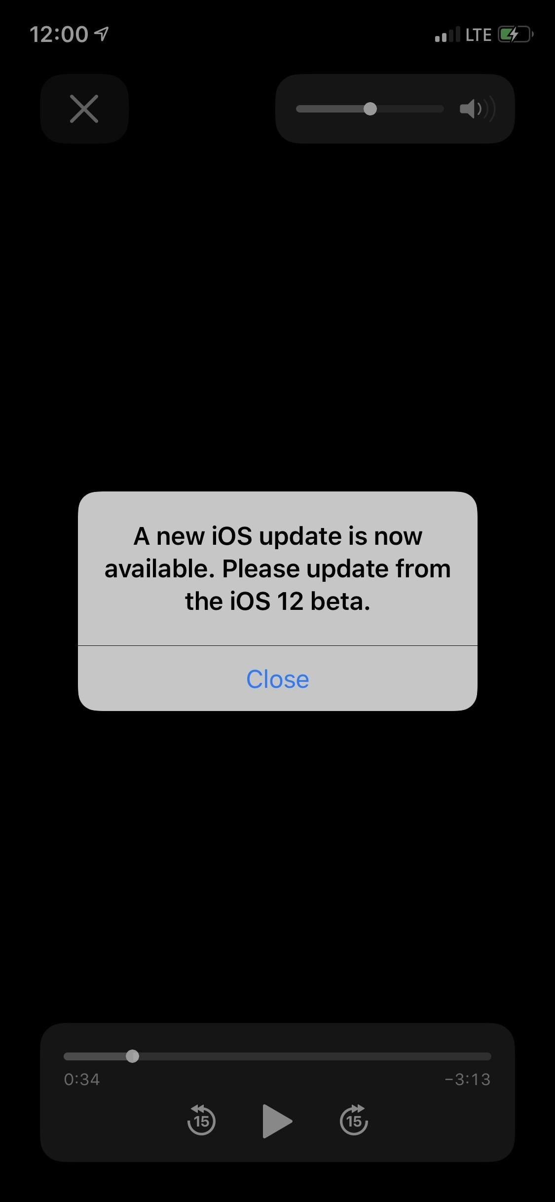 Apple has just released iOS 12 Beta 12 for iPhone to developers, corrects software update