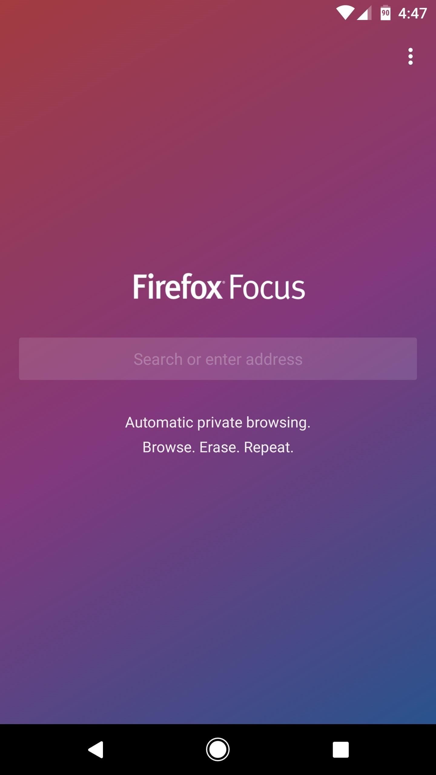 How to Try Mozilla's Privacy-Friendly Firefox Focus Browser on Android Right Now