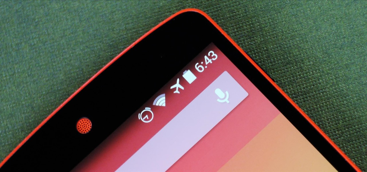 Upgrade Your Nexus 5's Alarm Clock Status Bar Icon to Include the Next Alarm Time