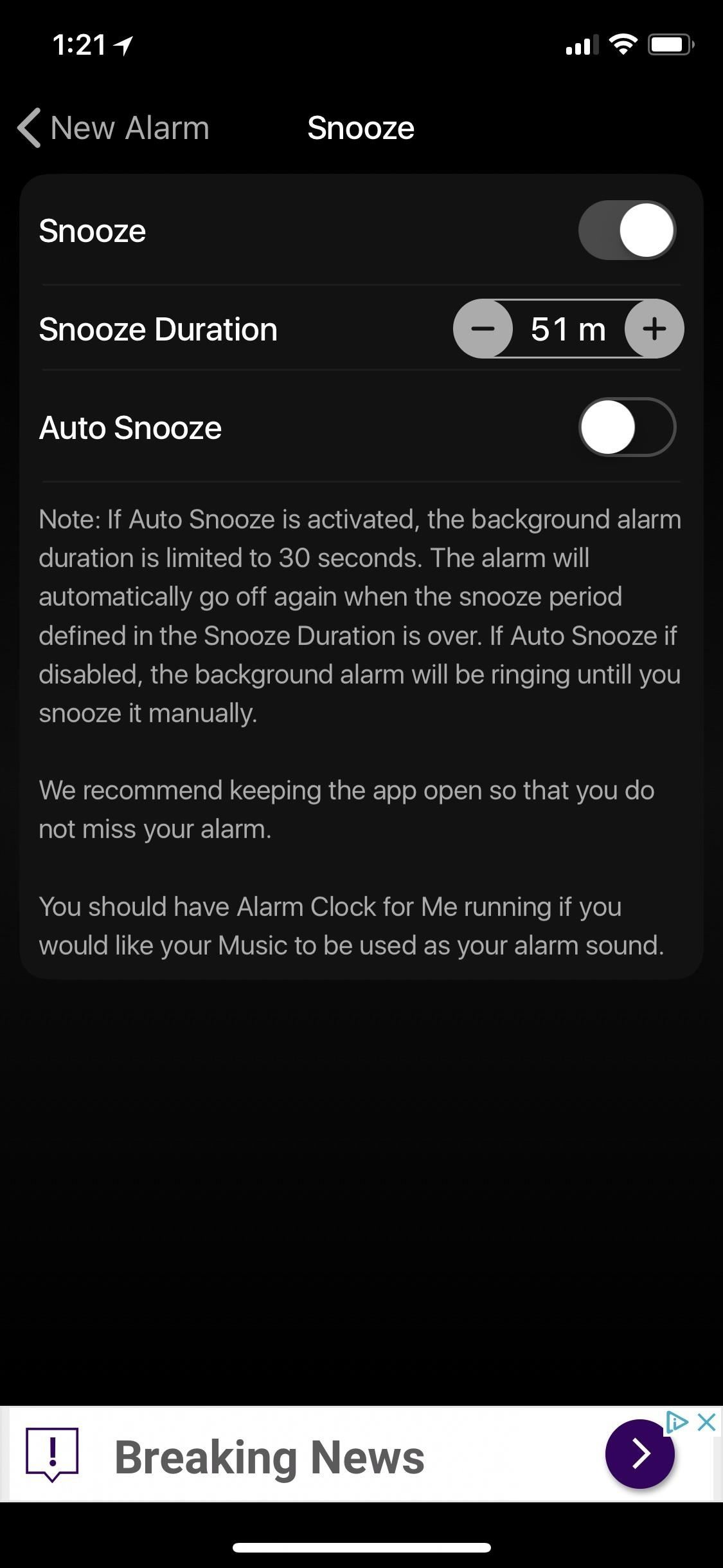 change snooze time on iphone how to change the default snooze time on your iphone s 16784