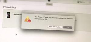 how to fix error 1009 iphone 7