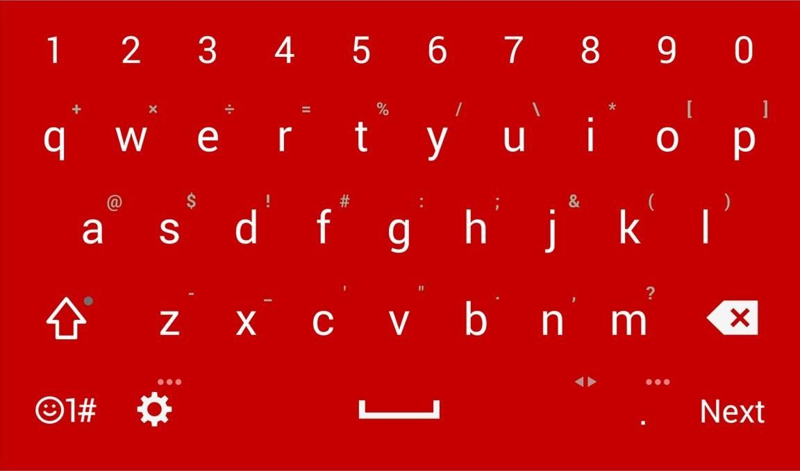 Exclusive Keyboard Themes for the LG G3