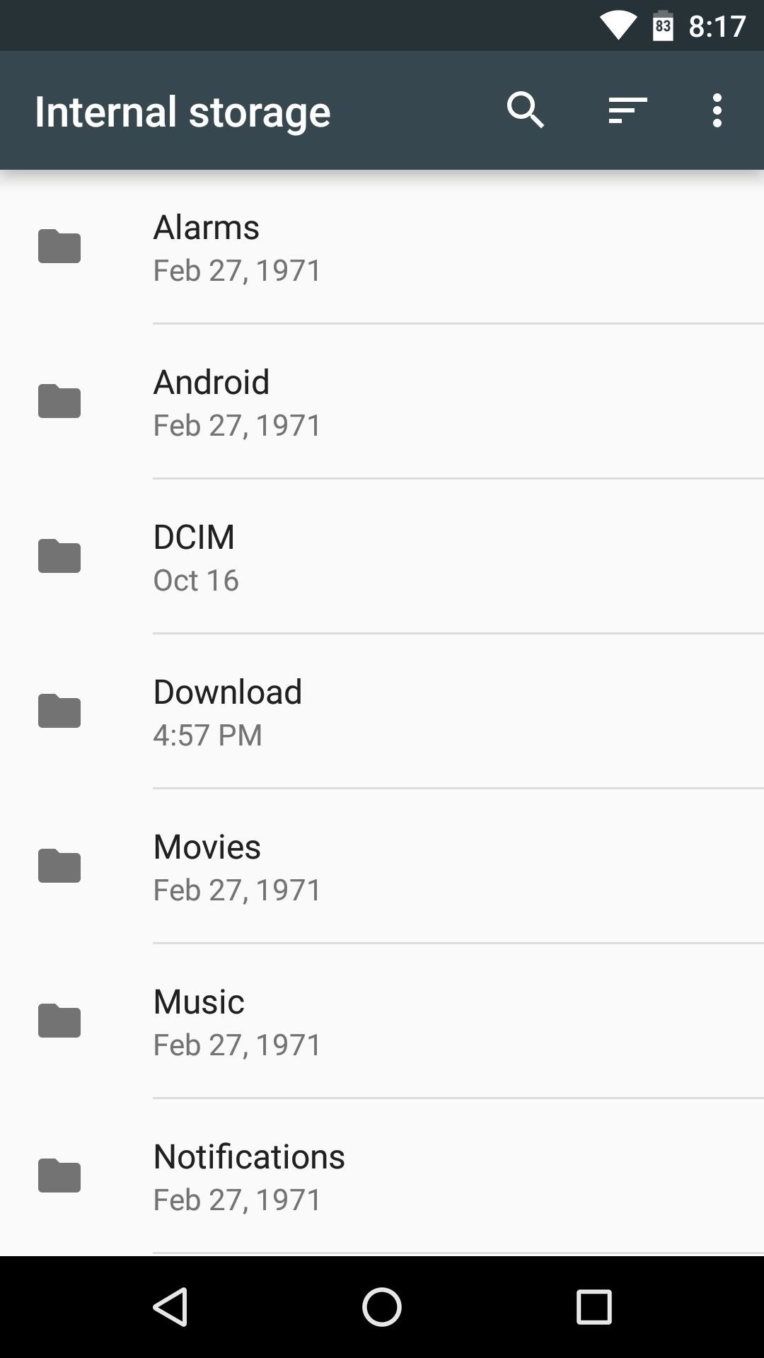 file commander apk android 2.3