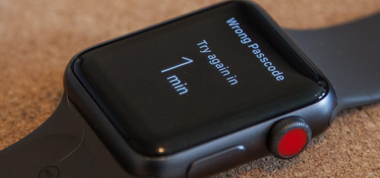 Forgot Your Apple Watch Passcode? Here's How to Bypass It Using Your iPhone or Watch
