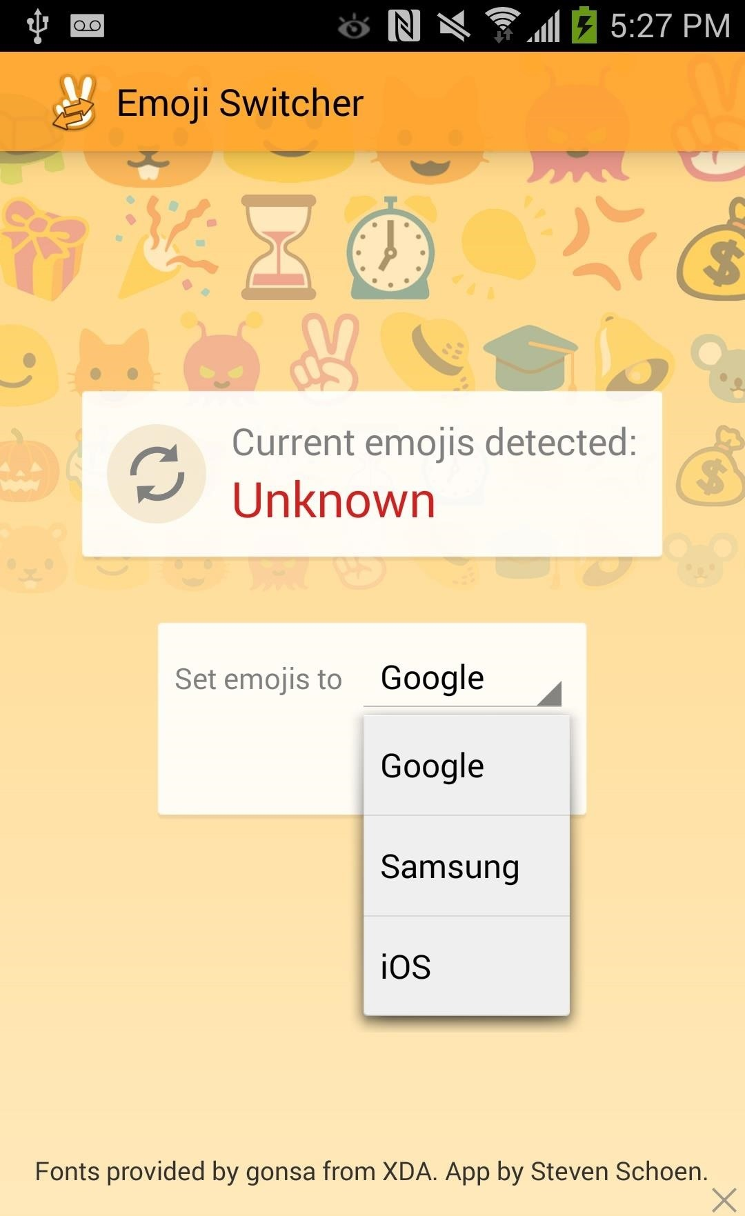 How to Swap Out Your Samsung Emoji for the More Popular Google & iOS Icon Sets