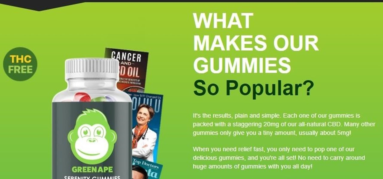 Side Effects of Green Ape CBD Gummies « Samsung Galaxy S5 :: Gadget Hacks